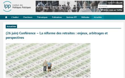 La réforme des retraites: enjeux, arbitrages et perspectives
