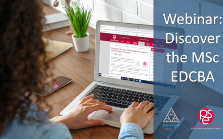 Webinar 15th January 2021: Discover the MSc EDCBA!